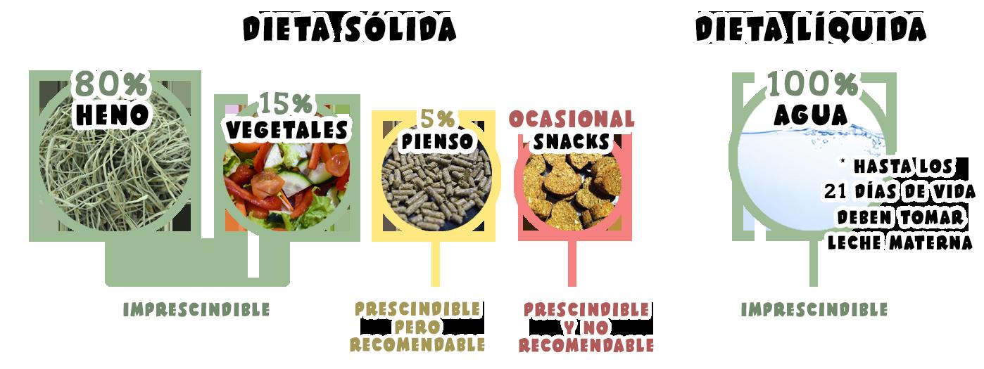 Dieta de la cobaya