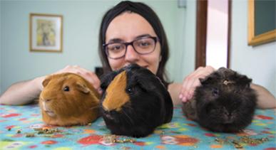 Trisqui, Brownie, Kovu y Ana