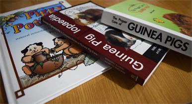 Libros sobre cobayas