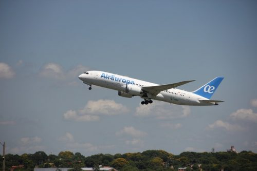 Aerolínea que admite cobayas Air Europa